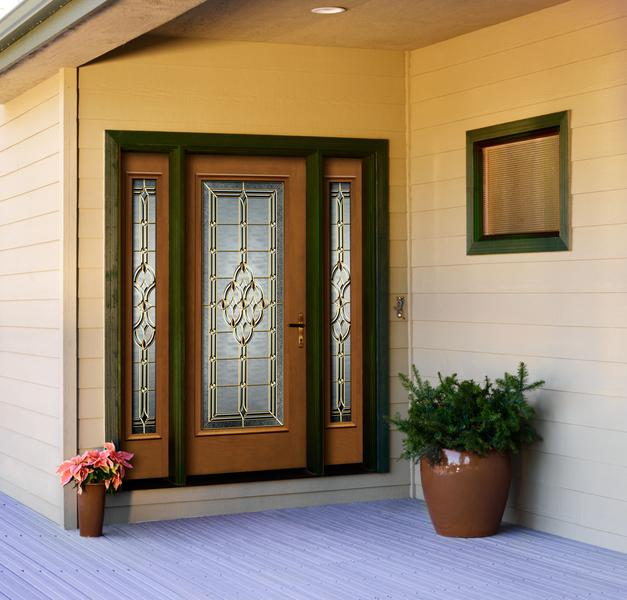 exterior fiberglass doors with glass 2