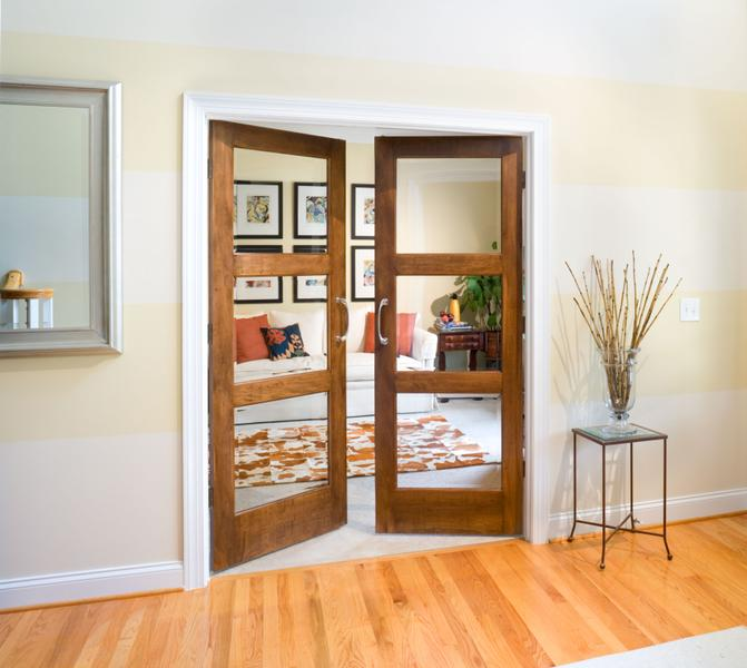 Chic French Doors