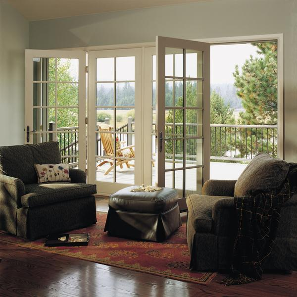 Perfect Classic French Doors With Jen Weld Windows.