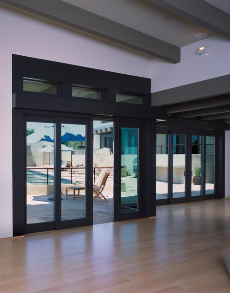 Custom Clad Wood Bi Parting Sliding Patio Doors Views From All Angles